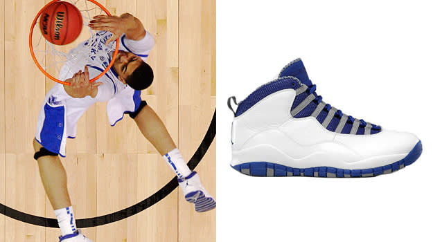 Anthony Davis in the Air Jordan X
