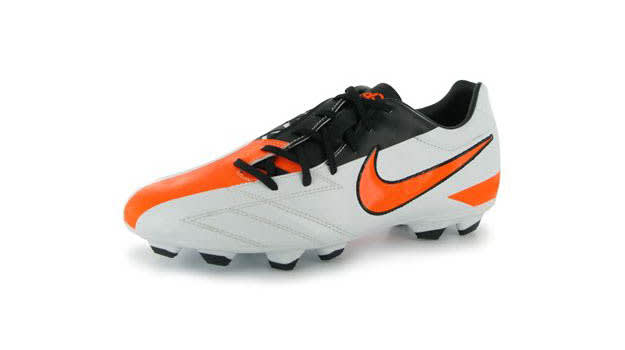 The Nike Total90 Shoot IV Soccer Boot