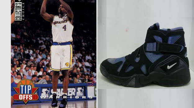 Chris Webber Golden State Warriors Nike Air Unlimited