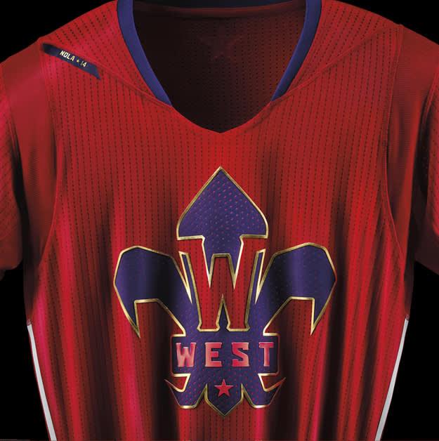 adidas NBA All-Star Jersey WEST Detail 1 copy