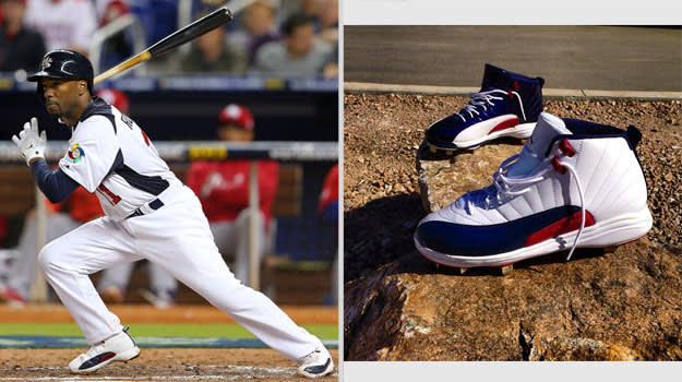 Jimmy Rollins United States Air Jordan XII