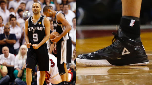 Tony Parker in the PEAK Team Lightning