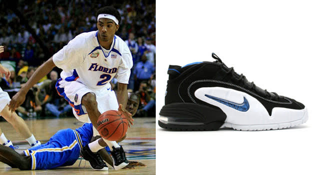 Corey Brewer in the Nike Air Max Penny 1