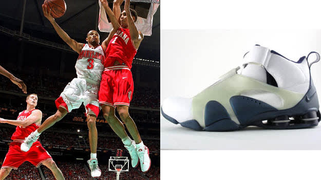 Juan Dixon in the Nike Shox Stunner