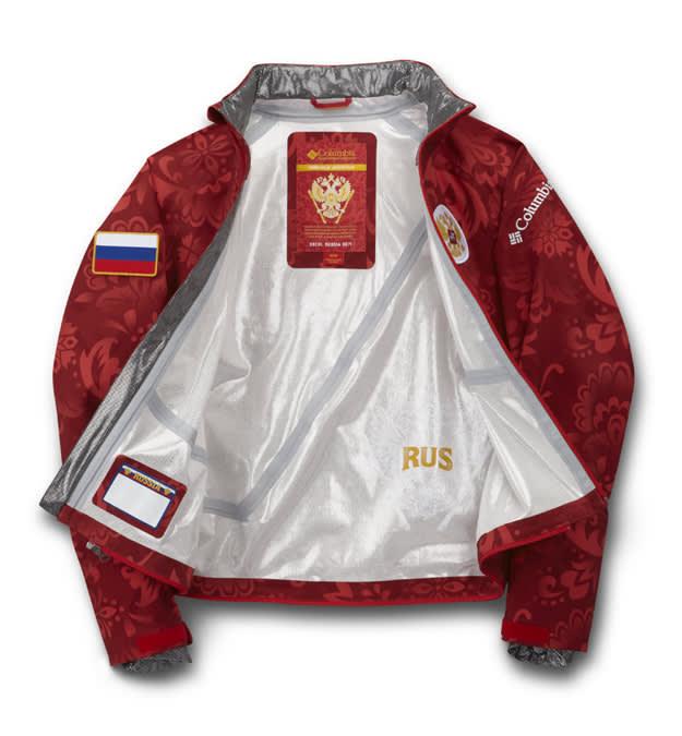 Columbia Sportwear Sochi Olympics 2014