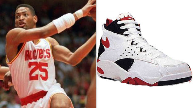 Robert Horry Houston Rockets Nike Air Maestro