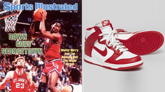 Walter Berry St. John's Nike Dunk