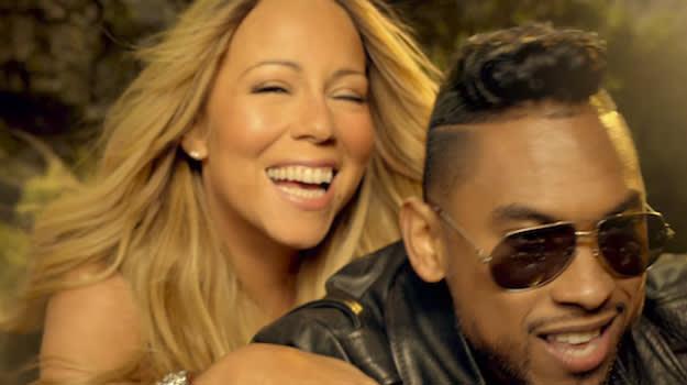 "Mariah Carey feat. Miguel ""Beautiful"""