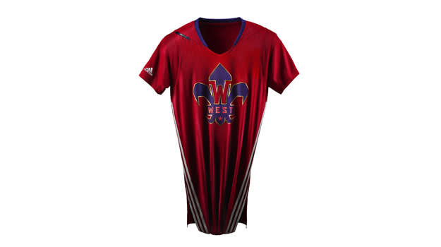 adidas NBA All-Star Jersey WEST Clipped copy
