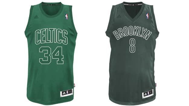2007-2012 NBA Christmas Jerseys