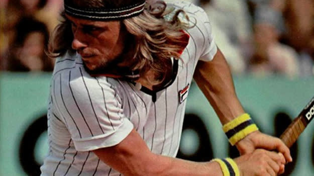 French Open outfit Bjorn Borg