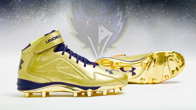 Ray Lewis Cleats UA