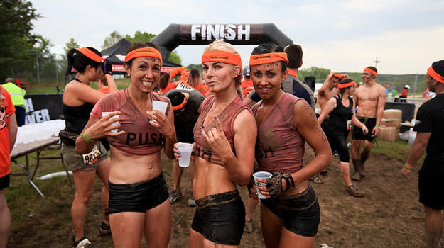 what to wear during tough mudder race