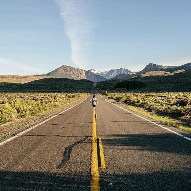 Running Landscape