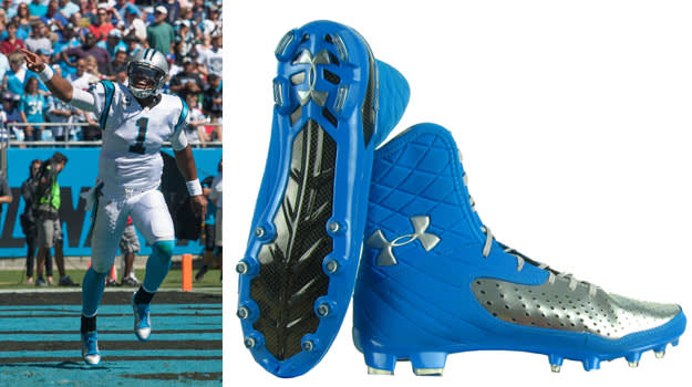 Cam Newton Under Armour Cleat from SportsUnlimited.com
