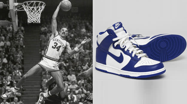Kenny Walker Kentucky Wildcats Nike Dunk