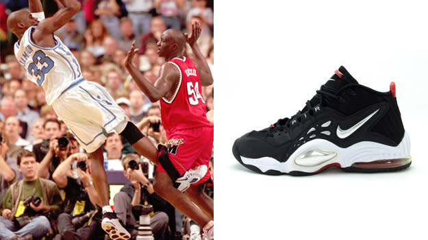 Antawn Jamison in the Nike Air MZ3