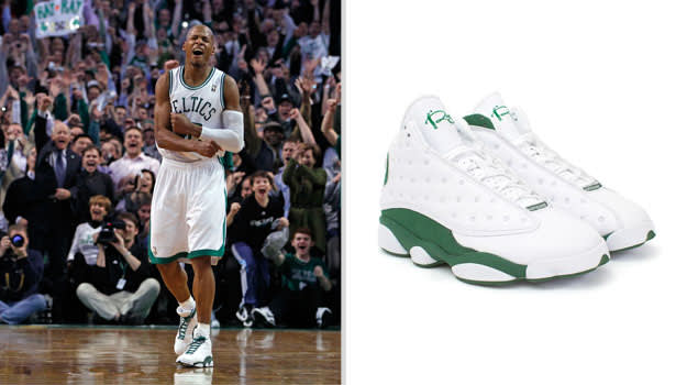 Ray Allen Boston Celtics Air Jordan XIII