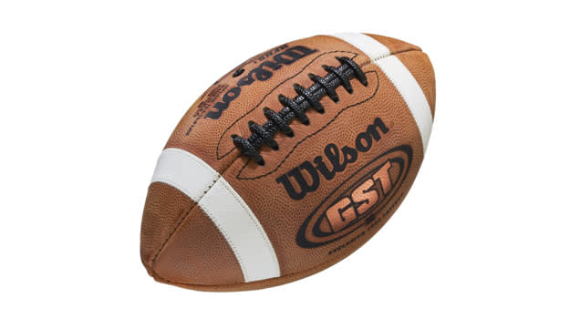 Wilson GST Leather Official Football