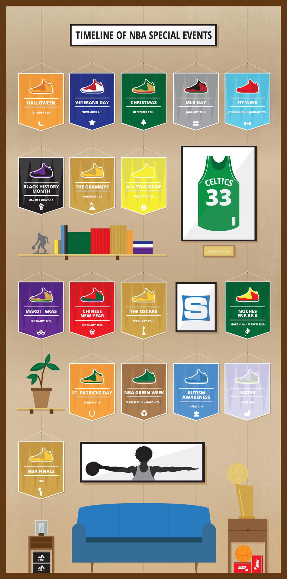 NBA Dress Code Sneakers