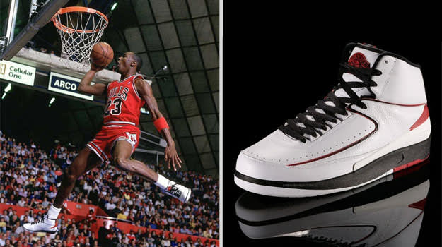 Michael Jordan Chicago Bulls Air Jordan II