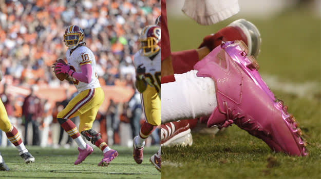 "adidas RGIII ""Breast Cancer Awareness"""
