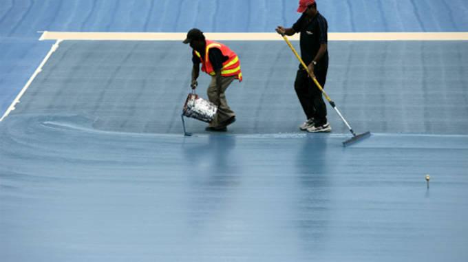 Australian Open Blue Court Surface