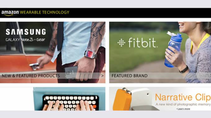 amazon wearable tech