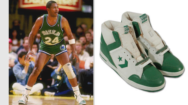Mark Aguirre Dallas Mavericks Converse Weapon