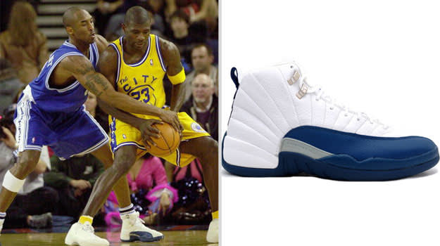 Kobe Bryant Los Angeles Lakers Air Jordan XII