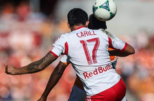 Weekend in Soccer - Cahill