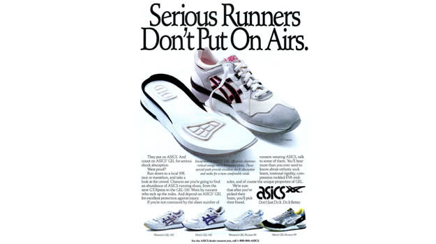 Asics Gel Technology