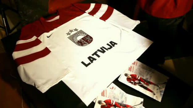Latvia Olympic Jersey