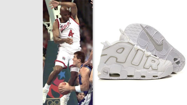 Charles Barkley United States Nike Air More Uptempo