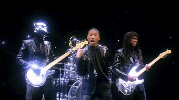 """Daft Punk feat. Pharrell, """"Get Lucky"""""""