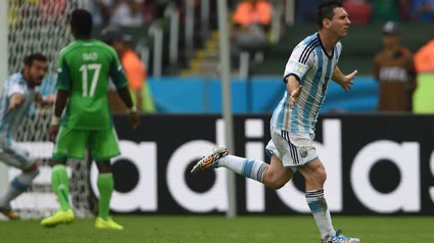 Messi Goal vs Nigeria
