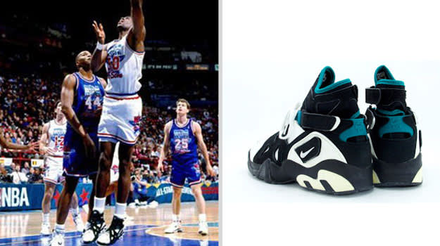 David Robinson San Antonio Spurs Nike Air Unlimited