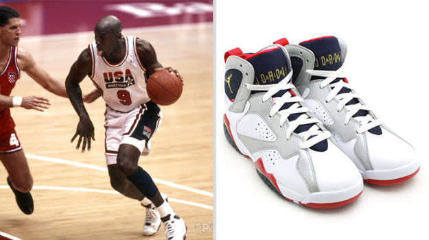 Michael Jordan Dream Team Air Jodan VII