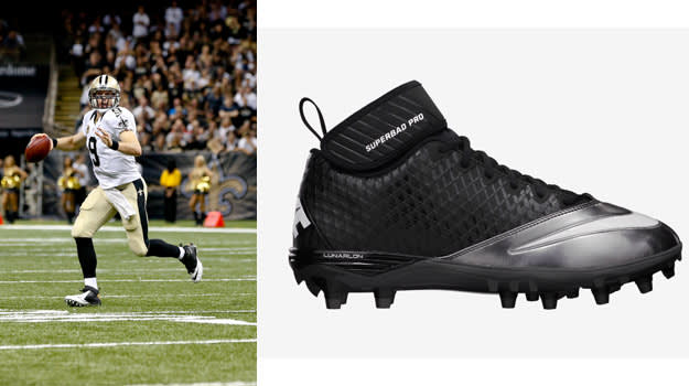Drew Brees Nike Lunar Superbad Pro D