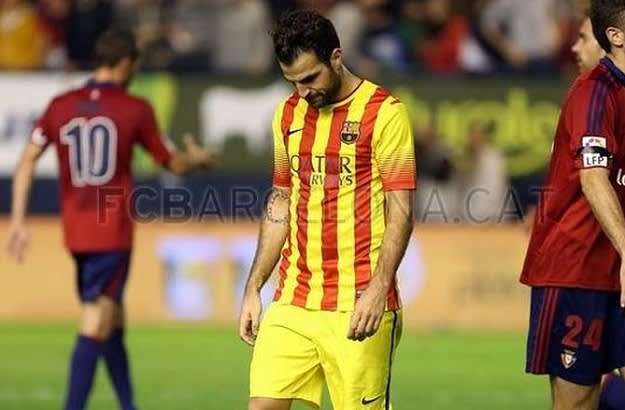 Weekend in Soccer - Fabregas Barca dont score