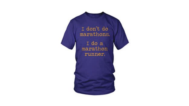i dont do marathons
