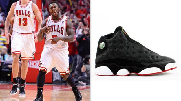 Nate Robinson Chicago Bulls Air Jordan XIII