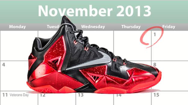 November Shoe Releases
