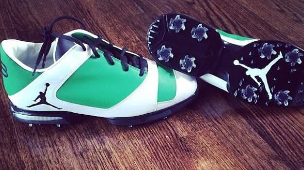 Keegan Bradley Jordan golf spikes