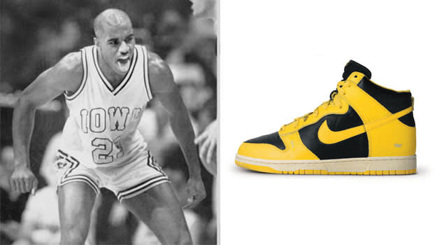Roy Marble Iowa Hawkeyes Nike Dunk