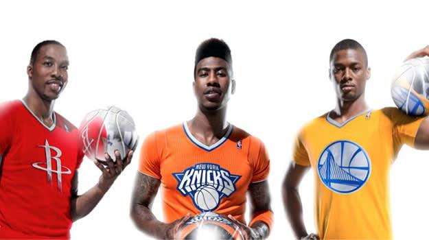 2013 NBA Christmas Jerseys