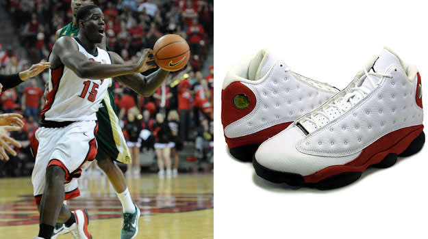 Anthony Bennett in the Air Jordan XIII