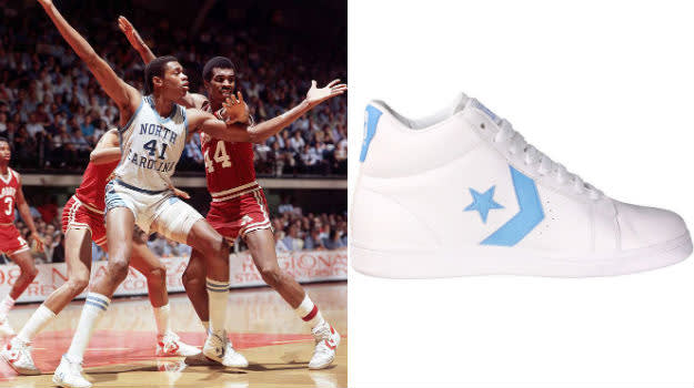 Sam Perkins converse pro leather