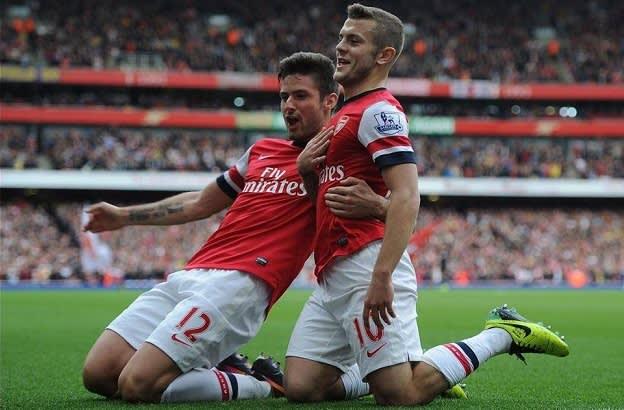 Weekend in Soccer - Jack Wilshere Goal