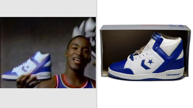 Isiah Thomas Detroit Pistons Converse Weapon